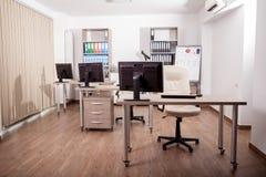 Pusty nowożytny biznesowy biuro Fotografia Stock