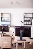 Pusty nowożytny biznesowy biuro Obrazy Stock