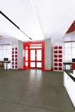 Pusty nowożytny biurowy wewnętrzny miejsce pracy Obraz Royalty Free
