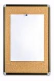 pusty nutowy papier na korek desce Fotografia Royalty Free