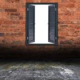 pusty okno Obraz Stock