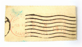 pusty opłata pocztowa postmarks znaczek Fotografia Royalty Free
