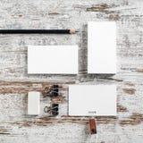 Pusty papierkowa robota szablon Zdjęcia Stock