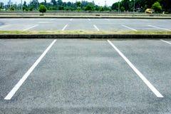 pusty parking Zdjęcie Stock