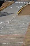 pusty parking partii Zdjęcia Royalty Free