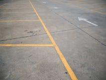 pusty parking partii Obrazy Stock