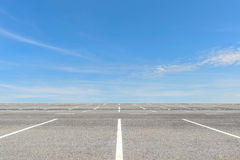 pusty parking partii Obraz Stock