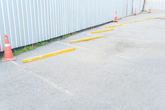 pusty parking samochód Obraz Royalty Free