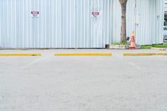 pusty parking samochód Obraz Stock