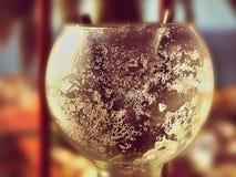Pusty pijący koktajlu szkło obraz royalty free