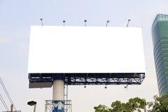 Pusty plenerowy billboard Obraz Stock