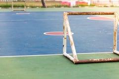 Pusty plenerowy jawny plenerowy futsal sąd Obrazy Royalty Free