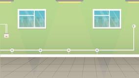 pusty pokój ilustracji