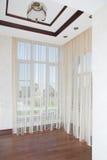 Pusty pokój i piękny okno Zdjęcie Royalty Free