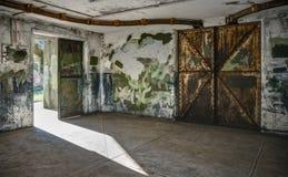 Pusty pokój przy Ford Worden Morską bazą zdjęcie royalty free