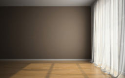 Pusty pokój w target621_1_ dzierźawcach dla Zdjęcie Stock