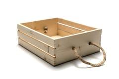 pusty pudełka drewno Obraz Stock