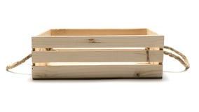 pusty pudełka drewno Zdjęcie Royalty Free