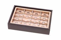 pusty pudełkowaty ciasteczko Zdjęcie Royalty Free