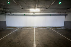 pusty samochodu parking Obraz Royalty Free
