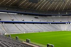 pusty stadion futbolowy Zdjęcie Royalty Free
