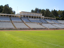 pusty stadionie Obrazy Royalty Free