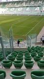Pusty stadium w Wrocławskim Polska Obrazy Royalty Free