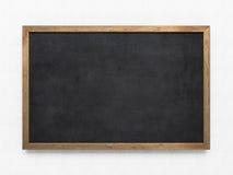 Pusty stary blackboard Obrazy Stock