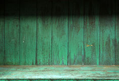 pusty stary szelfowy drewno Fotografia Royalty Free