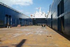 pusty statek Obrazy Royalty Free