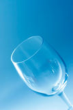 pusty szkło wina Obraz Royalty Free
