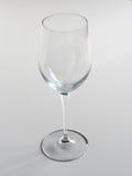 pusty szkło wina Fotografia Stock