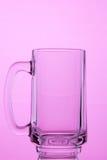 pusty szklankę piwa Fotografia Stock
