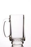 pusty szklankę piwa Obraz Stock