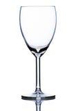 pusty szklany wino Zdjęcia Stock