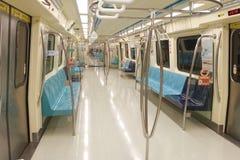 Pusty Taipei metra samochód Fotografia Royalty Free