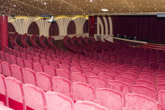 pusty teatr Obrazy Royalty Free