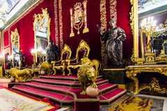 pusty tron Zdjęcia Royalty Free