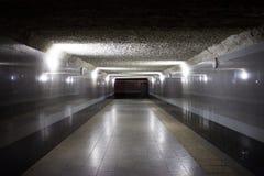 pusty tunel Obraz Stock
