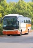 Pusty turystyczny autobus obraz stock