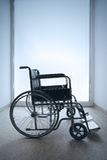 pusty wózek inwalidzki Obraz Royalty Free