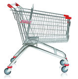 Pusty wózek na zakupy Zdjęcie Stock