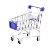 pusty wózka na zakupy Obraz Royalty Free