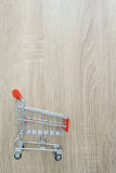 pusty wózka na zakupy Fotografia Stock