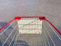 pusty wózka na zakupy Fotografia Royalty Free
