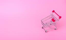 pusty wózka na zakupy Zdjęcie Royalty Free
