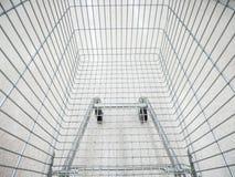 pusty wózka na zakupy Obrazy Royalty Free