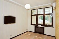 pusty wewnętrzny żywy pokój obrazy royalty free