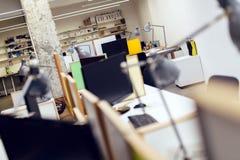 pusty wewnętrzny biuro Obraz Stock