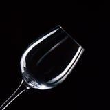 Pusty wineglass Zdjęcie Royalty Free